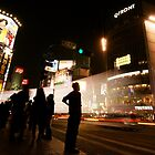 Crossing Shibuya by Matthew Pugh