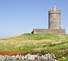 irish castle in doolin county clare by upthebanner