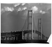 Mackinac Bridge No. 050727 Poster
