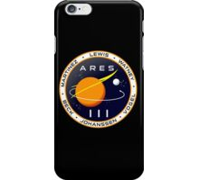 Ares 3 mission to Mars - The Martian iPhone Case/Skin