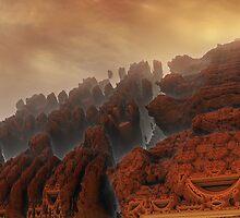 Xanadu sunset by Fiery-Fire