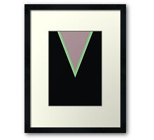 Screen Uniforms - Lost In Space - Dr Zachary Smith -Style 2 Framed Print