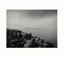 Great Salt Lake Beauty Art Print