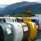 Iconoclasm 101 ~ Eilean Donan & The Dornie Daleks by artwhiz47