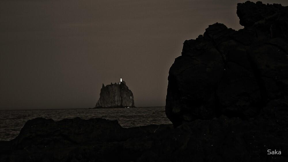 Dot in the dark by Saka