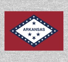State Flags of the United States of America -  Arkansas One Piece - Long Sleeve
