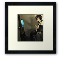What She Does Once He Is Safely Bound and Blindfolded (ltd ed) Framed Print