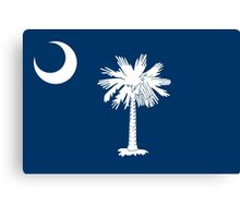 State Flags of the United States of America -  South Carolina Canvas Print