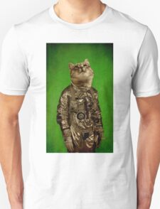 Up there is my home green Unisex T-Shirt