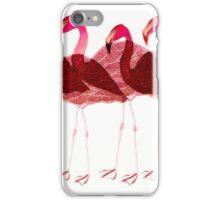 Flamingo Dancers iPhone Case/Skin