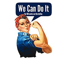 Feminist We Can Do It Photographic Print