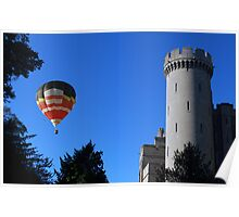 Arundel Castle & Hot Air Balloon Poster