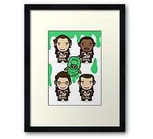 Who Ya Gonna Call? Framed Print