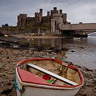 Conwy Castle and Boat by James Grant