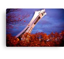 The Magic of the Olympic Stadium Canvas Print