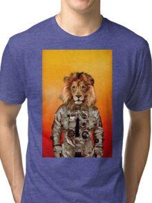 Go flight Tri-blend T-Shirt