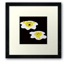 Egge Murder Framed Print