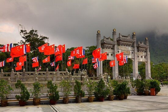 Po Lin Monastery by Paul Thompson Photography