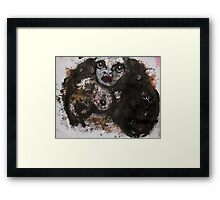 Face, Bernard Lacoque-34 Framed Print