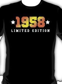 1958 Limited Edition Birthday Shirt T-Shirt
