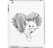 Cat love iPad Case/Skin