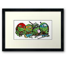 Teenage Mutant Ninja Minions Framed Print