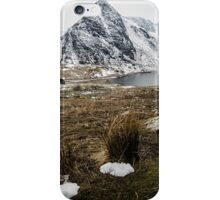 Tryfan and Llyn Ogwen iPhone Case/Skin