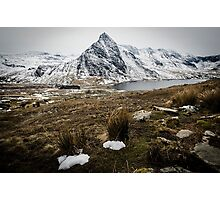 Tryfan and Llyn Ogwen Photographic Print