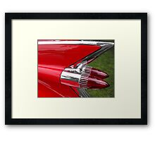 Red Tail Framed Print