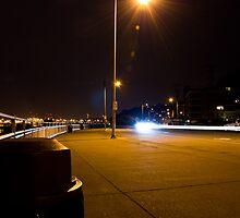 Alki Beach at night  by DiamondCactus