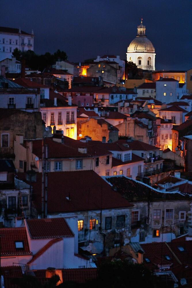 Lights of Lisboa by Nayko
