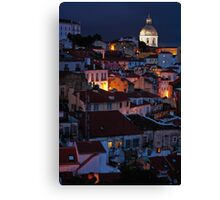 Lights of Lisboa Canvas Print