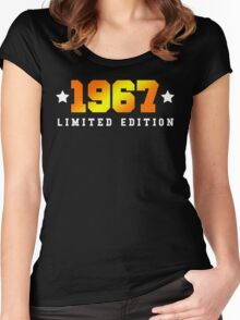 1967 Limited Edition Birthday Shirt Women's Fitted Scoop T-Shirt