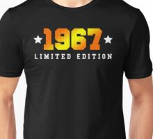 1967 Limited Edition Birthday Shirt Unisex T-Shirt