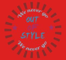 Taylor Swift - Style - 'We Never Go Out Of Style' One Piece - Long Sleeve