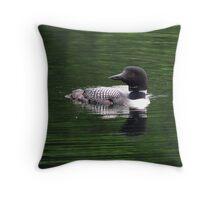 Loon- Northern Ontario Throw Pillow