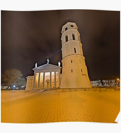 Cathedral of Vilnius Poster