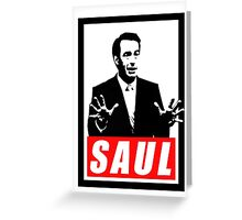 Better Call Saul - Saul (Obey) Greeting Card