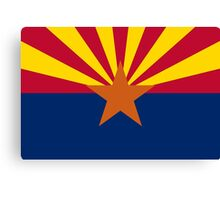 State Flags of the United States of America -  Arizona Canvas Print