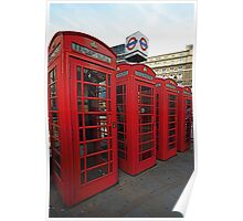 London Phone Box,s Poster