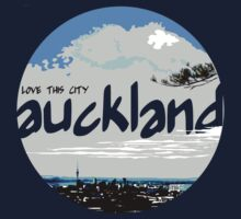 Auckland - Love This City Kids Tee