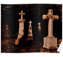Grave Stones Poster
