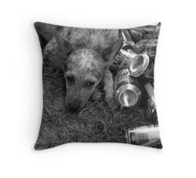 One of Those Days. Throw Pillow