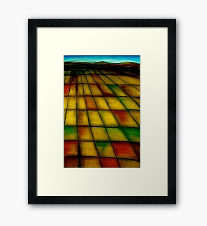 Emblematic Space, part 1 Framed Print