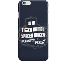 Doctor Who Catchphrases iPhone Case/Skin