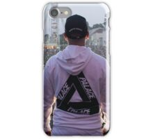 Palace Triangle / Live Artist Wearing Hoodie iPhone Case/Skin