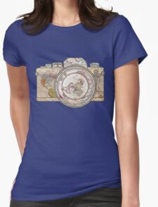 Travel Womens Fitted T-Shirt