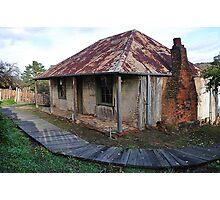 Beyer's Cottage - Hill End NSW Australia Photographic Print