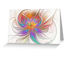 Espiral Dreams Greeting Card