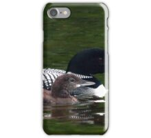Loons of August iPhone Case/Skin